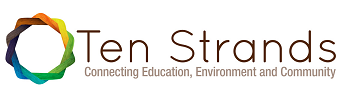 Ten Strands - Connection Education, Environment, and Community - Logo